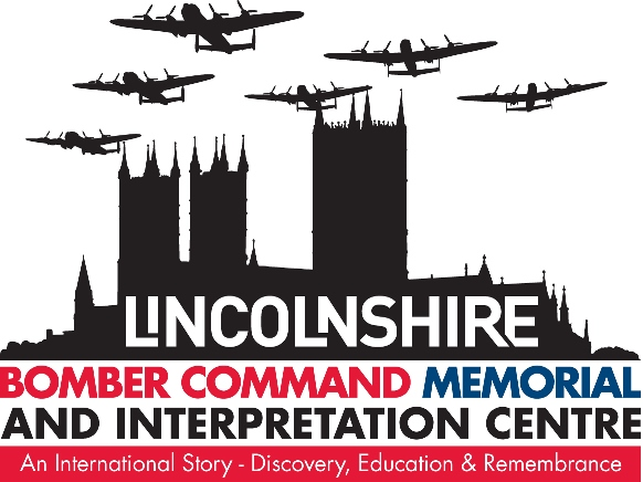 Lincolnshire Bomber Command Memorial - click for information